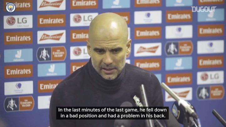 Guardiola: De Bruyne a doubt for Manchester Derby