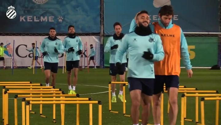 El Espanyol retorna los entrenamientos con ánimos renovados