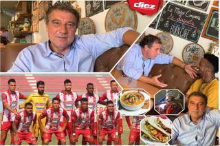 Fernando Mira se deja cautivar por La Ceiba: encantado con las baleadas, sopa marinera y el gifiti ¡para vencer el covid!