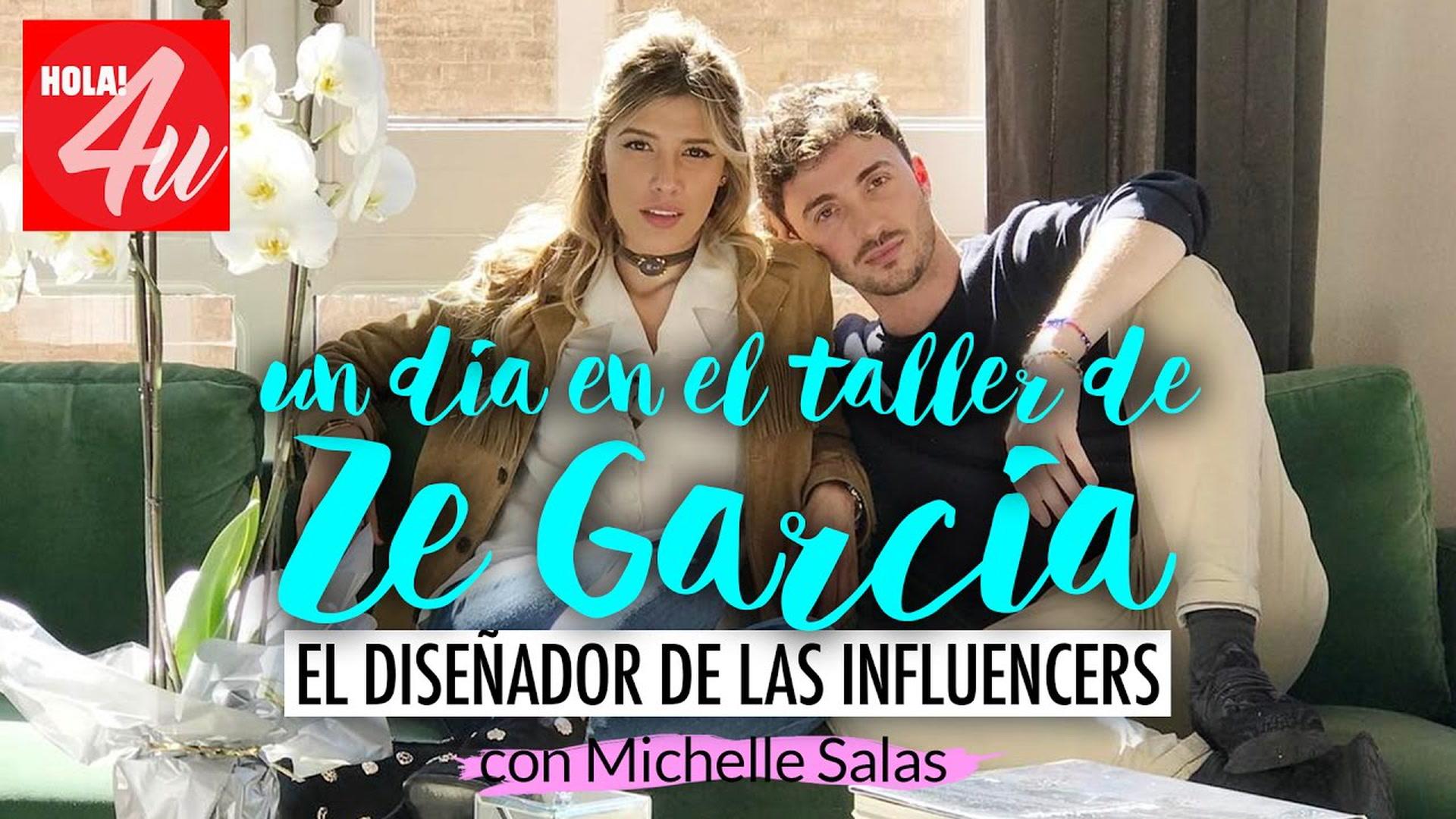 Un día en el taller de Ze García, el diseñador de las 'influencers'