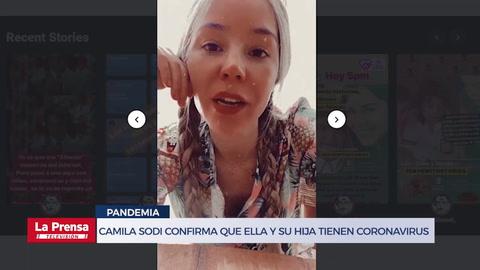 Camila Sodi confirma que ella y su hija tienen coronavirus