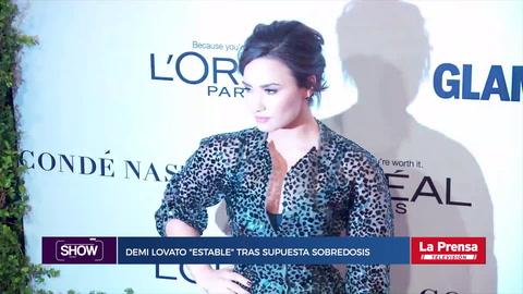Show, resumen del 24-7-2018. Demi Lovato ''estable'' tras supuesta sobredosis