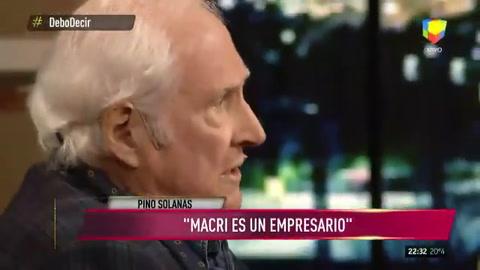 Pino Solanas: Amigos de Macri concentran la obra pública del país
