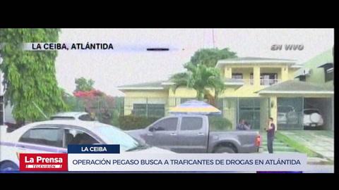 Operación Pegaso busca a traficantes de drogas en Atlántida y Colón