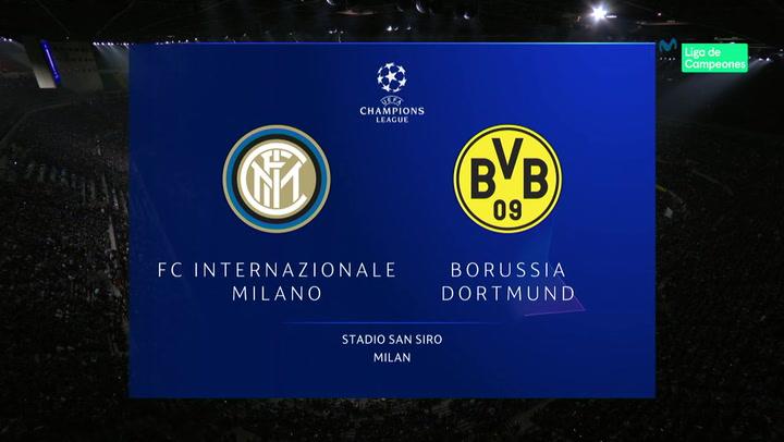 Champions League: Resumen y Goles del Partido Inter - Borussia Dortmund