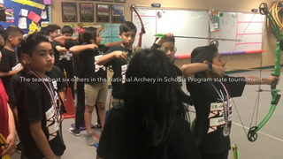 Squires Elementary Archery Team