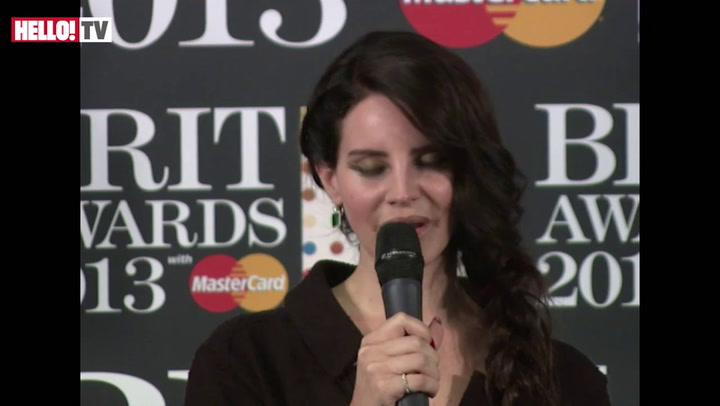 Lana Del Rey on how it feels to win an award for international female solo artist