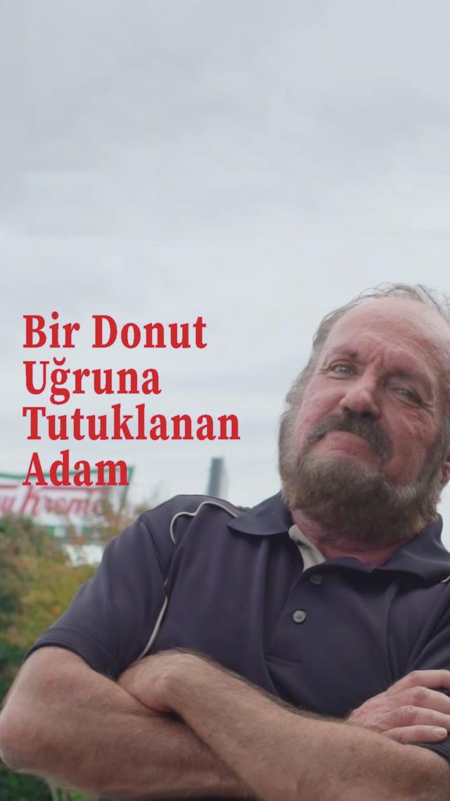 Bir donut uğruna tutuklanan adam