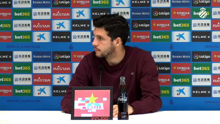 """Javi López: """"Si se salva el equipo y yo me tengo que ir, lo firmo ahora"""""""