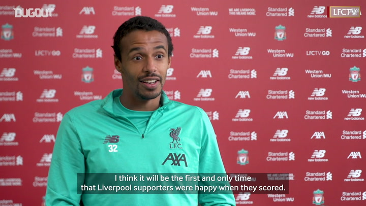 Joel Matip on the moment when Liverpool won the Premier League title