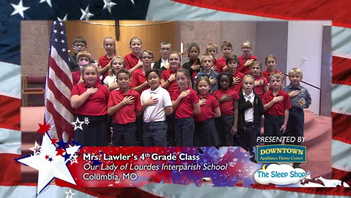 Our Lady of Lourdes Interparish School - Ms. Lawler - 4th Grade