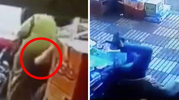 Kløp dame i rumpa – ble slått bevisstløs