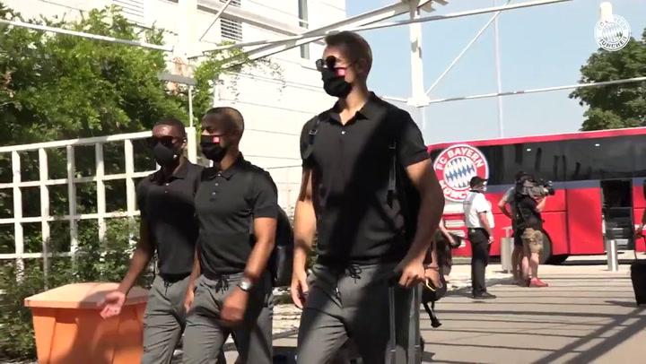 El Bayern empieza su 'stage' en el Algarve portugués