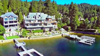 Spread Out in This Waterfront Megamansion in Lake Arrowhead, CA