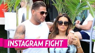 'Jersey Shore' Star Ronnie Ortiz Magro Gets in Instagram Fight With  Girlfriend