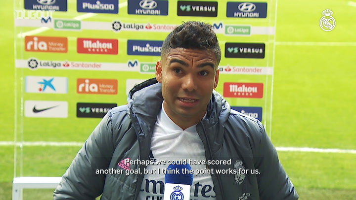 Casemiro: 'We gave our all out there and battled on until the end'
