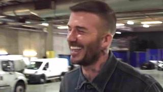 Her rundlures David Beckham