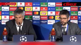 Setién avisa al Bayern Múnich tras clasificarse a cuartos de Champions