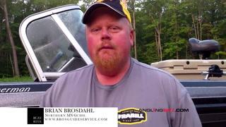 AnglingBuzz: Buzz Bite report with Brian Brosdahl