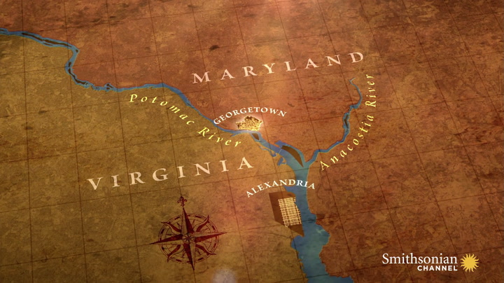 The Reason Why DC Is Between Maryland And Virginia Smithsonian - Marriland state
