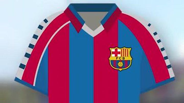 Las camisetas más icónicas del Barça