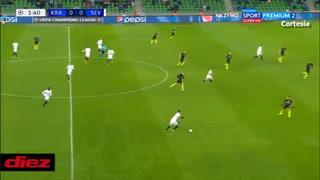 Volea, cañonazo y golazo: Rakitc anota fantástico gol ante Krasnodar en Champions League