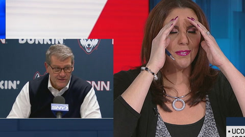 Geno Auriemma won't let Kara Wolters live this down