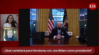 ¿Qué cambiará para Honduras con Joe Biden como presidente de Estados Unidos?