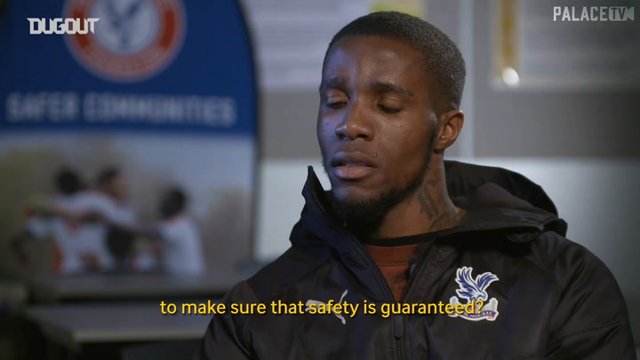 Wilfried Zaha: 'What we do on the pitch will make the difference'