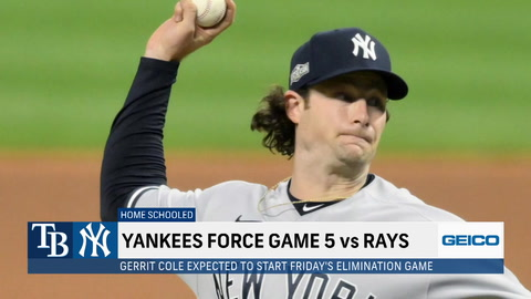 SportsNite: How dominant will Gerrit Cole be in Game 5 of the ALDS on 3 days rest?