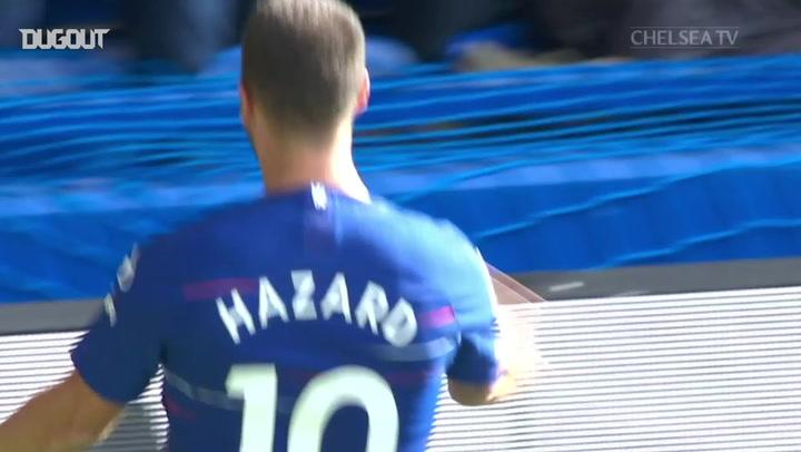 Hat-Trick Heroes: Eden Hazard Vs Cardiff City