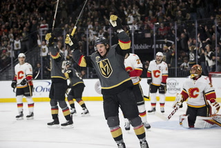 Golden Edge: Knights Beat Flames 7-3