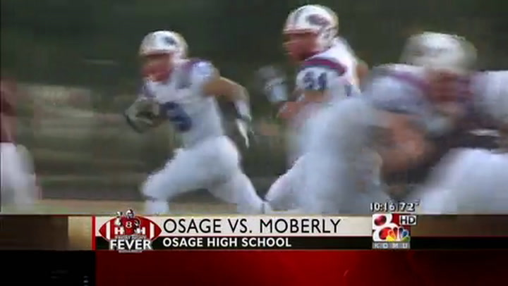 Moberly at Osage FNF Week Two