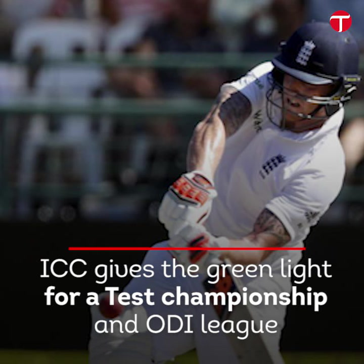 ICC approves Test championship, ODI league proposals
