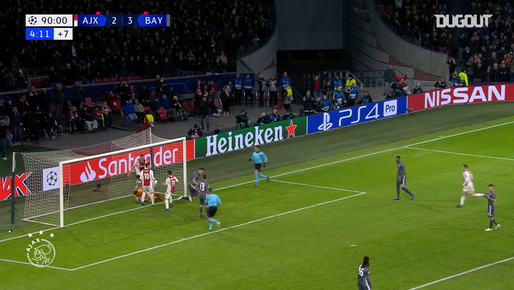 Tagliafico nets dramatic late equaliser vs FC Bayern