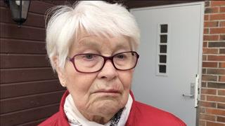 Norunn (82): - Jeg så at jeg blødde, da stengte jeg døra