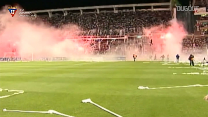 Liga de Quito's first leg win vs Fluminense in the 2008 Libertadores Final