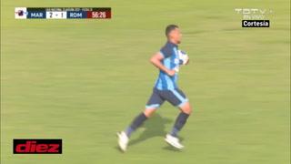 Real de Minas recortó distancia con gol de penal de Erick Andino