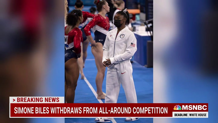MSNBC's Wallace: 'Doughy White Right-Leaning Losers' Criticizing Simone Biles Shows U.S. Is 'F'd Up'