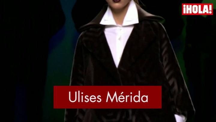Fashion Week Madrid otoño-Invierno 2015-2016: Ulises Mérida