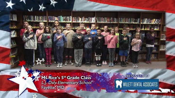 L.J. Daly Elementary School - Ms. Rice - 5th Grade