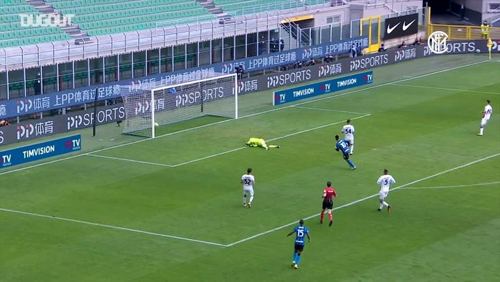 Lautaro Martinez's first Inter hat-trick