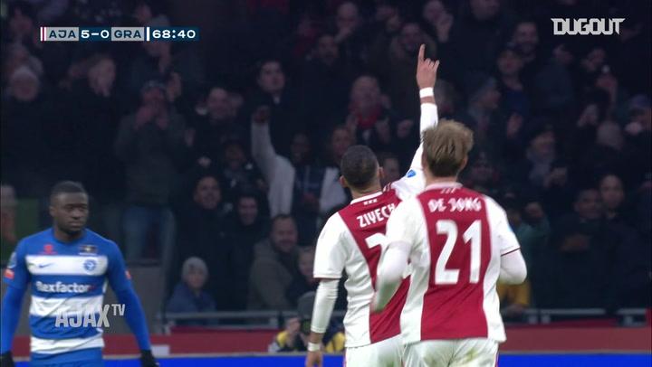 Hakim Ziyech's showstopping hat-trick vs De Graafschap