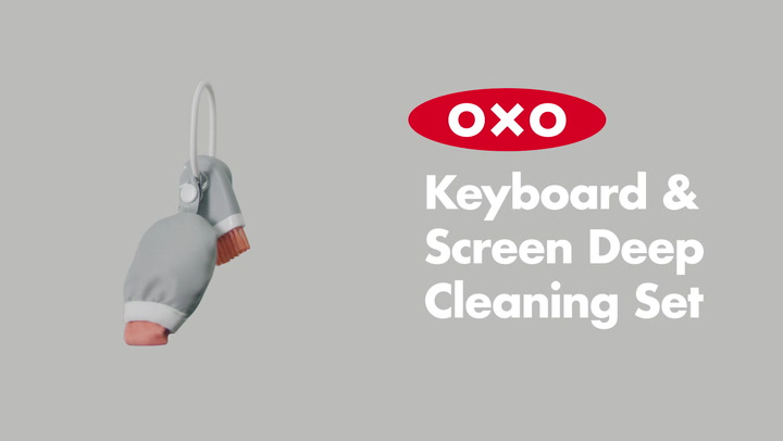 Preview image of OXO Good Grips Keyboard & Screen Deep Clean Set video
