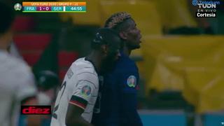 La mordida de Antonio Rudiger a Pogba en la Eurocopa#
