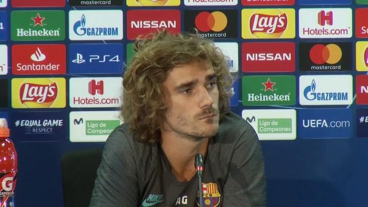 """Griezmann: """"Messi y yo no somos de hablar mucho pero estamos en la buena dirección"""""""
