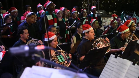 El coro navideño que reconcilia a excombatientes y víctimas