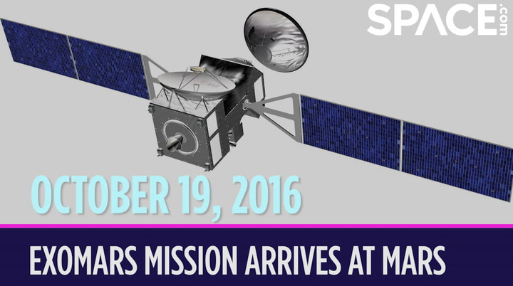 OTD in Space - Oct 19: ExoMars Mission Arrives at the Red Planet