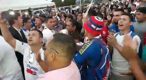 La Ultra Fiel le canta a José Rafael Ferrari