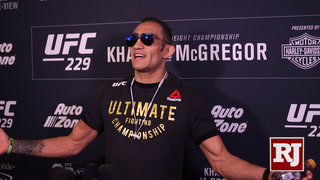 Tony Ferguson says he has a chip on his shoulder